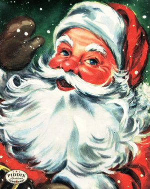 PDXC20136a -- Santa Claus Color Illustration