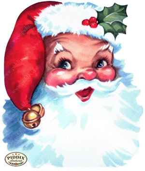 PDXC20150a -- Santa Claus Color Illustration