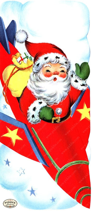 PDXC20155a -- Santa Claus Color Illustration