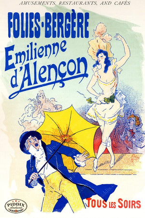 French Posters Pdxc2126 Color Illustration