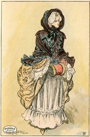 Pdxc2163 -- French Fashion Color Illustration