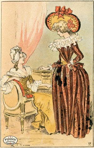 Pdxc2165 -- French Fashion Color Illustration