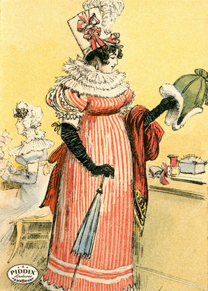 Pdxc2170 -- French Fashion Color Illustration