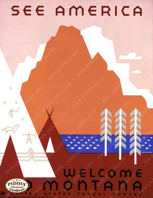 Pdxc2396 -- Vintage Travel Posters Poster