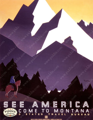 Pdxc2400 -- Vintage Travel Posters Poster