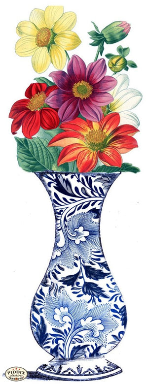 Pdxc3840B -- Chinoiserie Vases Original Collage