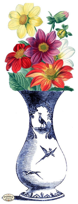 Pdxc3840C -- Chinoiserie Vases Original Collage