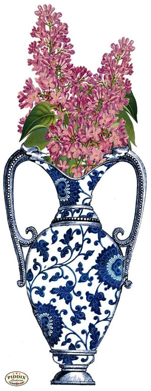 Pdxc3841B -- Chinoiserie Vases Original Collage