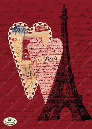 Pdxc3883 -- City Of Love Original Collage