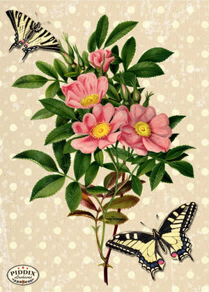 Pdxc3903 -- French Florals Original Collage