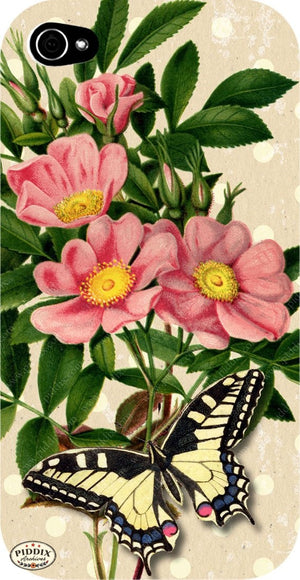 Pdxc3907 -- French Florals Original Collage