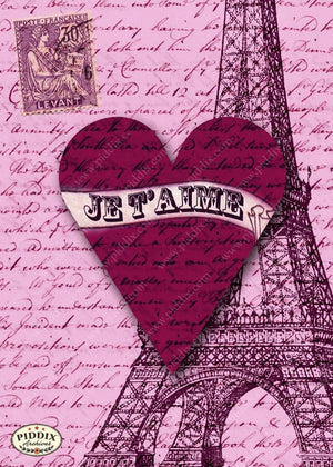Pdxc4286 -- City Of Love Original Collage