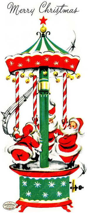 PDXC4413 -- Santa Claus Color Illustration