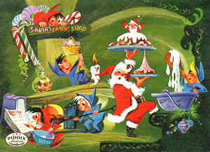 PDXC4414 -- Santa Claus Color Illustration