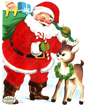 Pdxc4415 -- Santa Claus Color Illustration