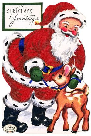 Pdxc4416 -- Santa Claus Color Illustration