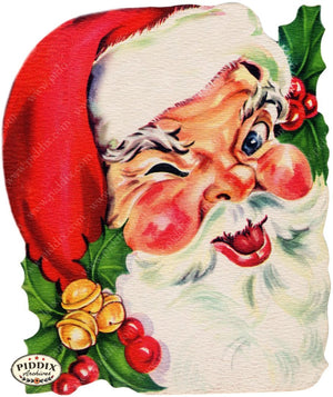 Pdxc4417A -- Santa Claus Color Illustration