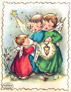 Pdxc4433 -- Christmas Color Illustration