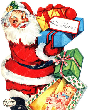 Pdxc4456A -- Santa Claus Color Illustration