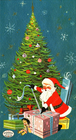PDXC4463 -- Santa Claus Color Illustration