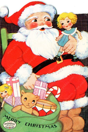 PDXC4485-- Santa Claus Color Illustration