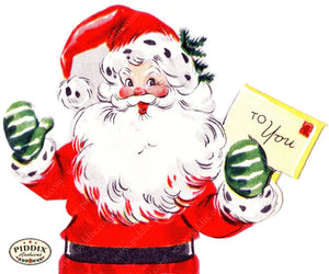 PDXC4491A-- Santa Claus Color Illustration