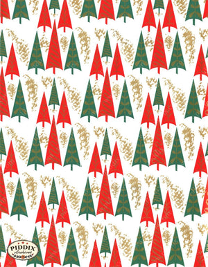 Pdxc4519 -- Christmas Patterns Color Illustration