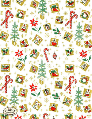 Pdxc4523 -- Christmas Patterns Color Illustration
