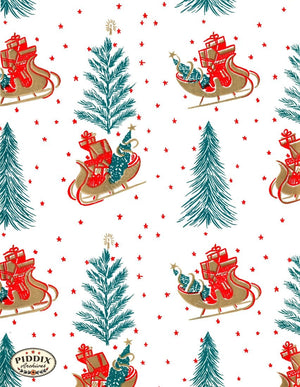 Pdxc4524 -- Christmas Patterns Color Illustration