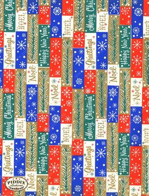 Pdxc4527 -- Christmas Patterns Color Illustration
