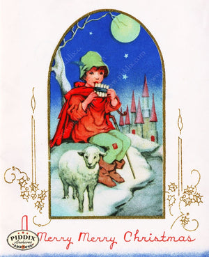 Pdxc4615 -- Christmas Color Illustration