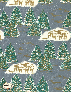 Pdxc4762 -- Christmas Patterns Color Illustration