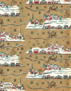 Pdxc4777 -- Christmas Patterns Color Illustration