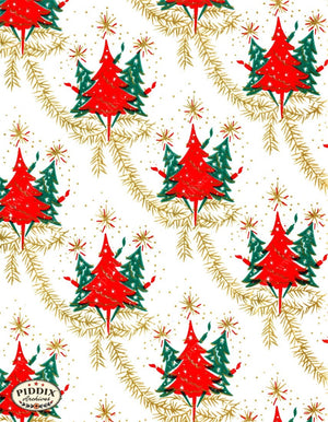 Pdxc4778 -- Christmas Patterns Color Illustration