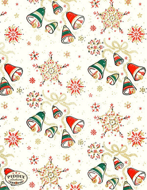 Pdxc4784 -- Christmas Patterns Color Illustration
