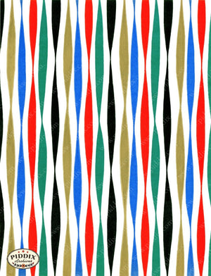 Pdxc4789 A & B -- Christmas Patterns Color Illustration