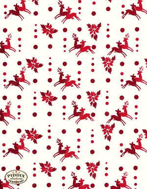 Pdxc4792 A & B -- Christmas Patterns Color Illustration