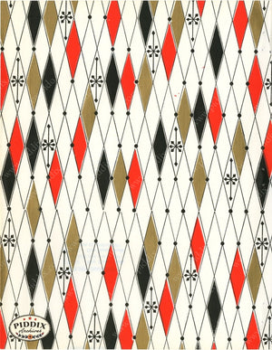Pdxc4794 A & B -- Christmas Patterns Color Illustration