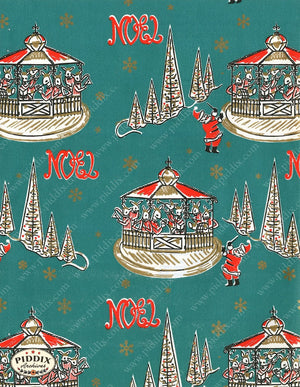 Pdxc4796 -- Christmas Patterns Color Illustration