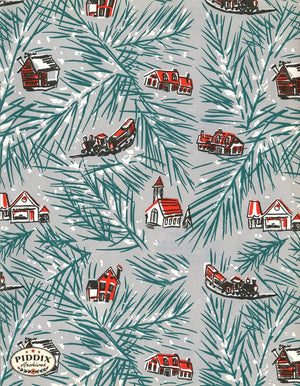 Pdxc4799 -- Christmas Patterns Color Illustration