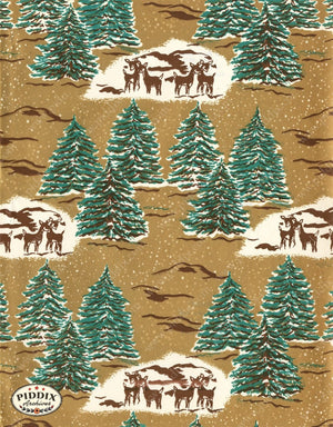 Pdxc4801 -- Christmas Patterns Color Illustration
