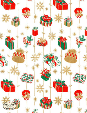 Pdxc4808 -- Christmas Patterns Color Illustration