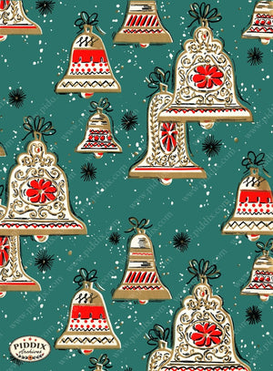 Pdxc4810 -- Christmas Patterns Color Illustration