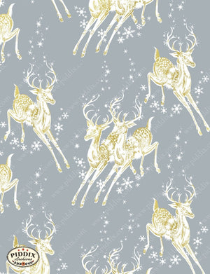Pdxc4811 B & C -- Christmas Patterns Color Illustration
