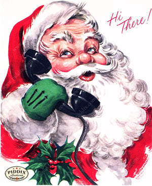 PDXC4819 -- Santa Claus Color Illustration