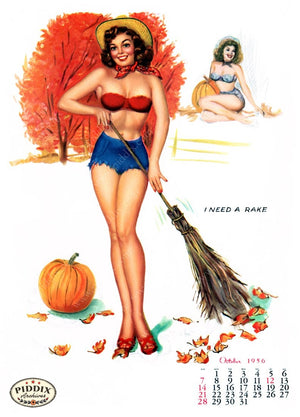 Pdxc4862 -- Pin-Ups Color Illustration