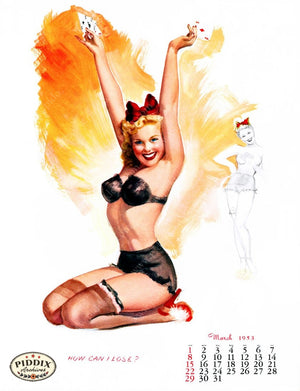 Pdxc4867 -- Pin-Ups Color Illustration