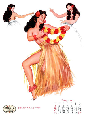 Pdxc4869 -- Pin-Ups Color Illustration
