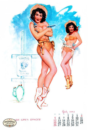 Pdxc4871 -- Pin-Ups Color Illustration