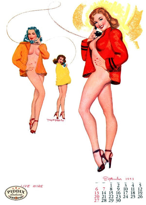 Pdxc4873 -- Pin-Ups Color Illustration